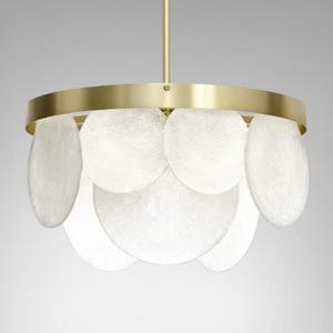 Image 1 - Nordic Modern Gold LED Pendant Lights bedroom dinning room kitchen hanglampen voor eetkamer E27 LED Lamp Edison Light Bulb