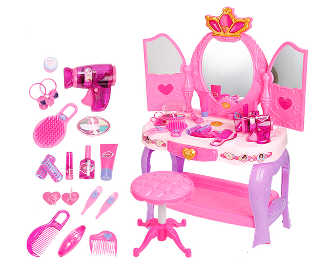 Girl Dresser Simulation Play House Toys Girls 3 4 5 6 Years Old