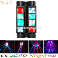 Mini LED Spider 8x6W Beam Moving Light DMX Stage Lights Business Light High Power Light With