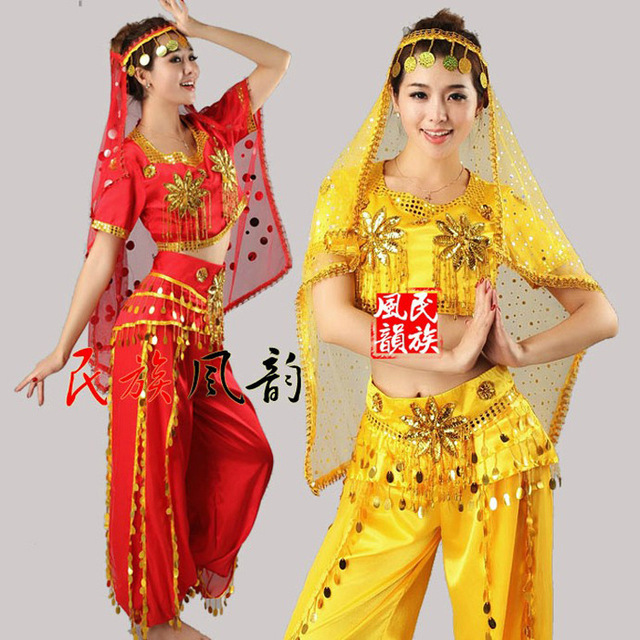 291c782afc Xinjiang dance folk stage dance costumes India belly dance costumes Costume  National costume sales