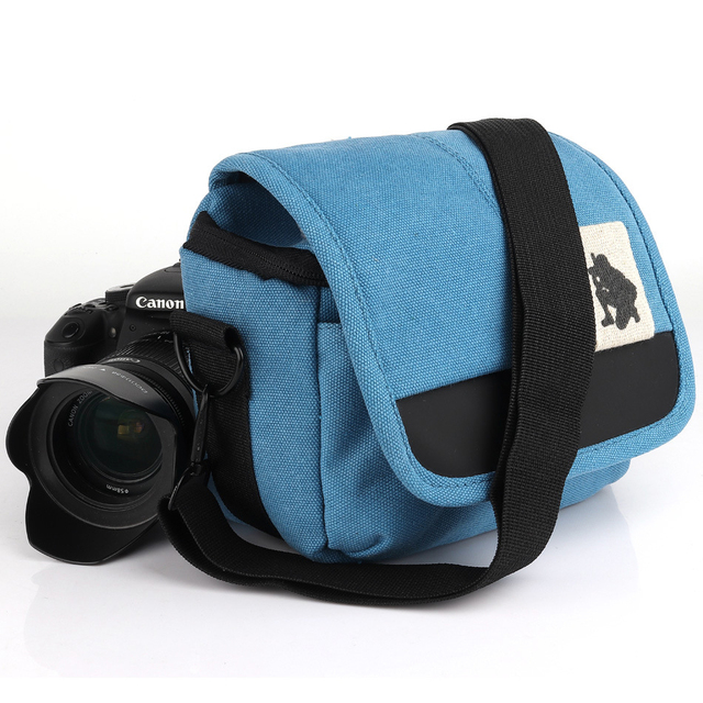 Lowepro Camera Shoulder Bag Slr Canvas Photo Handbag