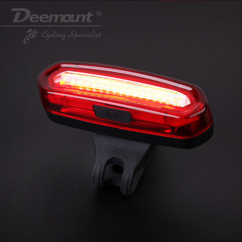 5 LED Rear Bike Bicycle Tail Light COB LED 3 Modes Bycicle Safety Rear Lamp 1PC