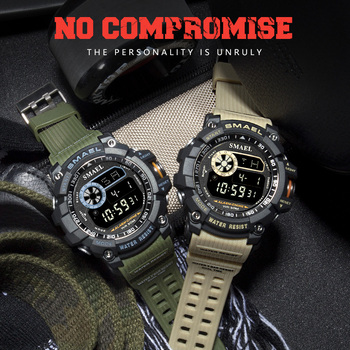 שעון צבאי דיגיטלי לגבר