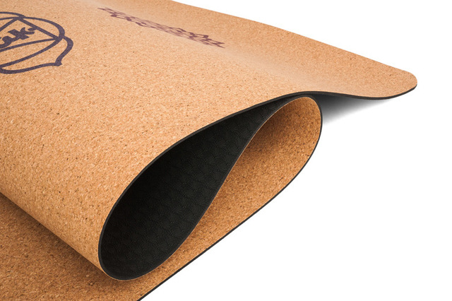 Eco Fitness Natural Cork Yoga Mat