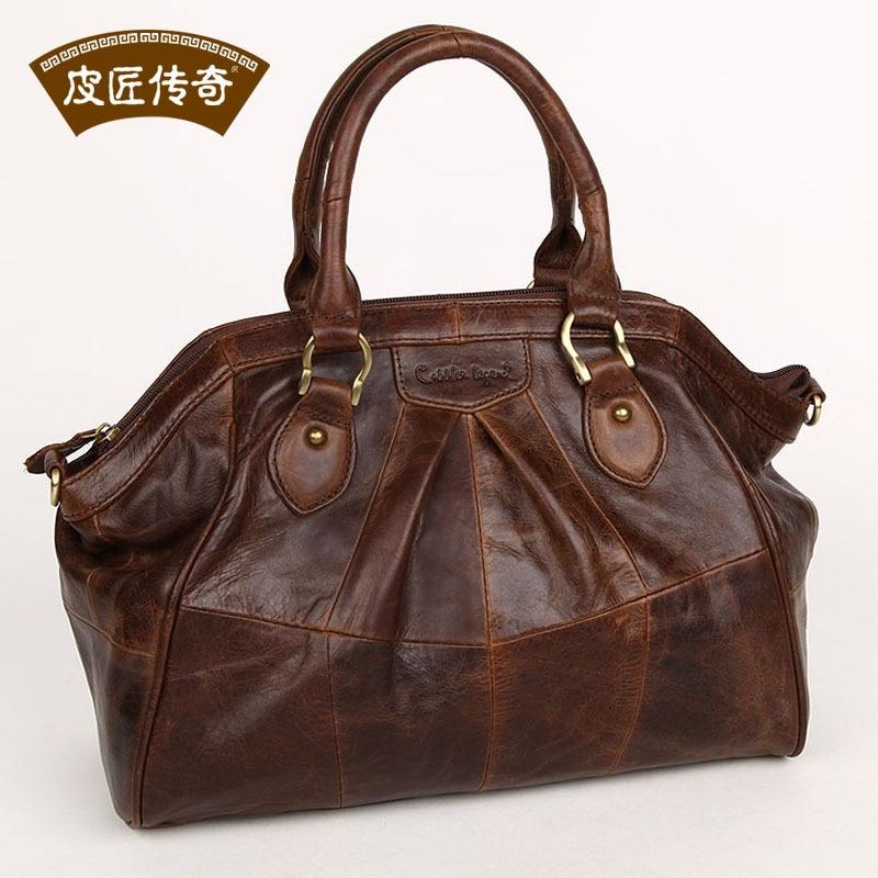 FASHION COOL GENUINE LEATHER Womens handbag messenger bag fashion female ol elegant genuine leather 804217