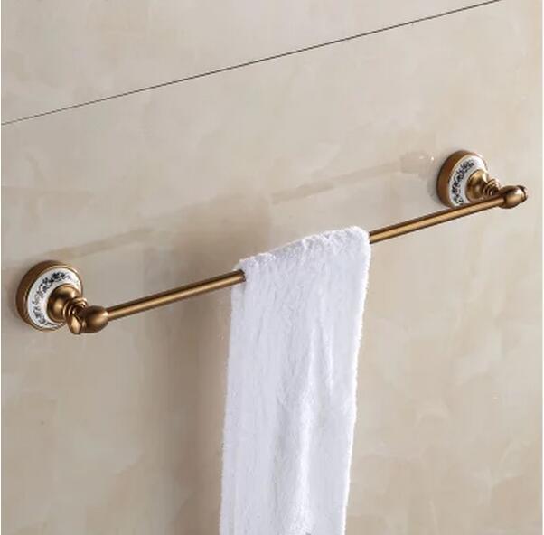 √Aluminio sola barra de toalla, sostenedor de la toalla, estante de ...