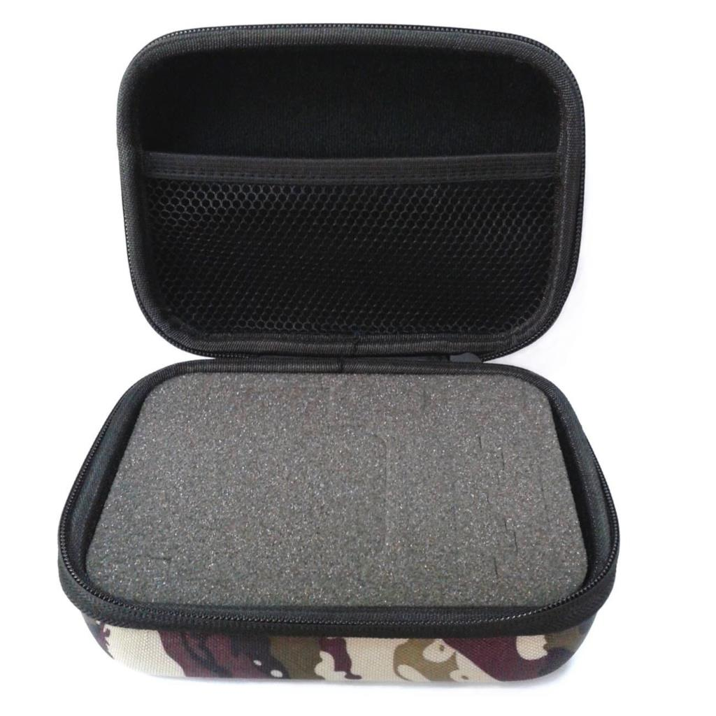 cheapest ORBMART Camo Storage Sport Camera Case Portable Collection Bag For GoPro HD Hero 4 3 2 Xiaomi Yi SJCAM SJ4000 SJ7000 Accessories