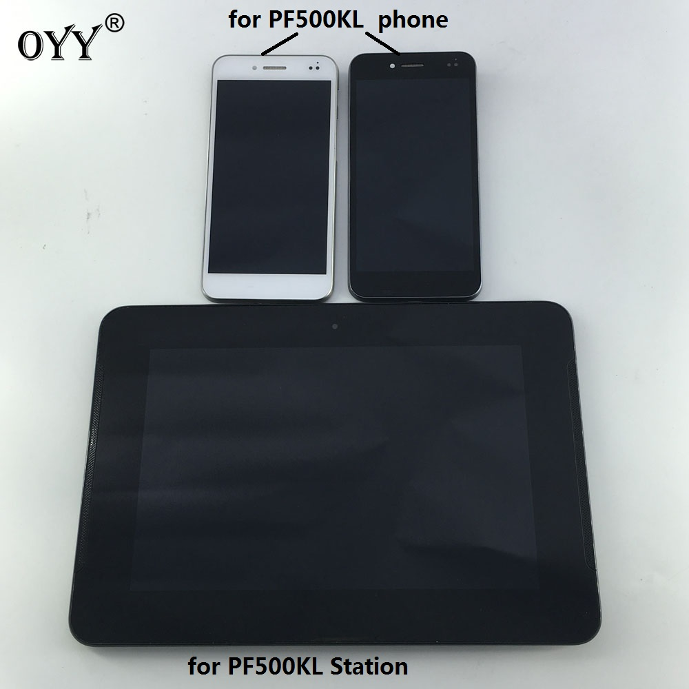 LCD Display Panel Screen Monitor Touch Screen Digitizer Glass Assembly with frame For ASUS PadFone S PF500KL PF500 PF-500KL T00n new 13 3 touch glass digitizer panel lcd screen display assembly with bezel for asus q304 q304uj q304ua series q304ua bhi5t11