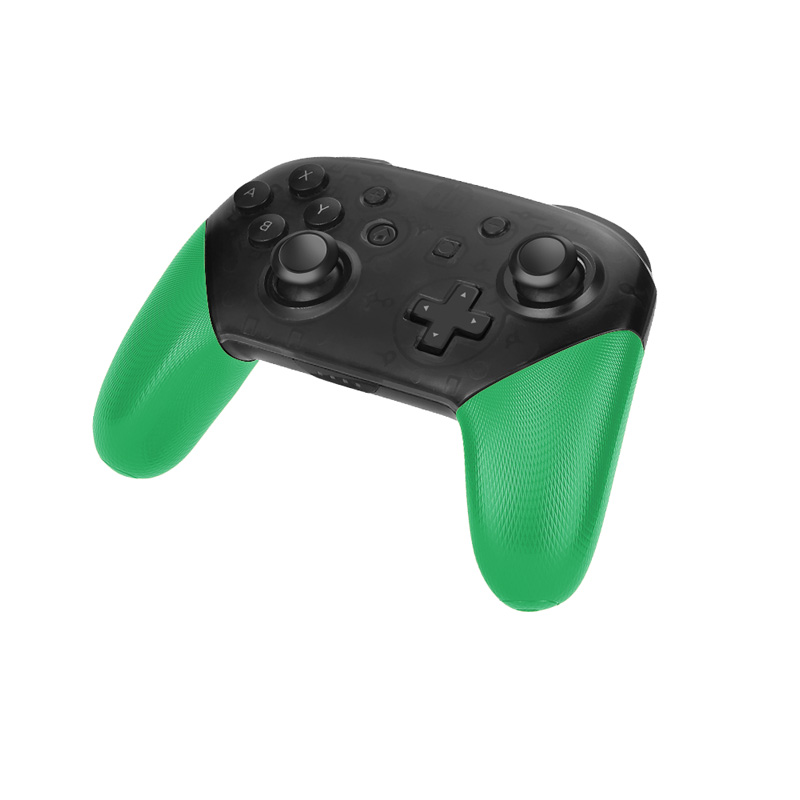 Купить с кэшбэком Nintend Switch Pro Controller Anti-Slip Grip Shell DIY Delicate Textured Replacement Handles Cover For NS Switch PRO Accessories