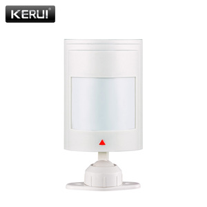 Image 1 - KERUI Wired PIR Infrared motion detector sensor for Wired Zones Home security gsm alarm system