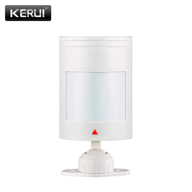 KERUI Wired PIR Infrared motion detector sensor for Wired Zones Home security gsm alarm system