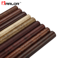 50x200cm Color Change Wood Grain Vinyl Film Furniture Wood Grain Textured Decal Car Internal Self Adhesive