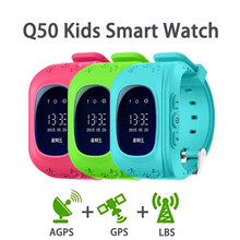 Q50 GPS Kid Smart Watch GPS LBS Locator Anti Lost Baby Smartwatch Tracker SOS Call Alarm Remote Monitor Reminder for Android iOS недорого