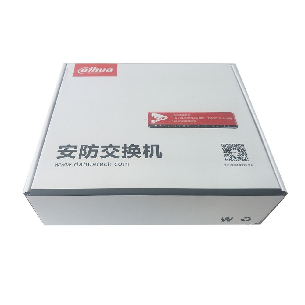 Image 4 - Dahua 8 ports POE switch S1500C 8ET1ET DPWR IEEE802.3af IEEE802.3at Hi PoE 1*10/100Mbps 8*10/100 Mbps DH S1500C 8ET1ET DPWR-in Transmission & Cables from Security & Protection