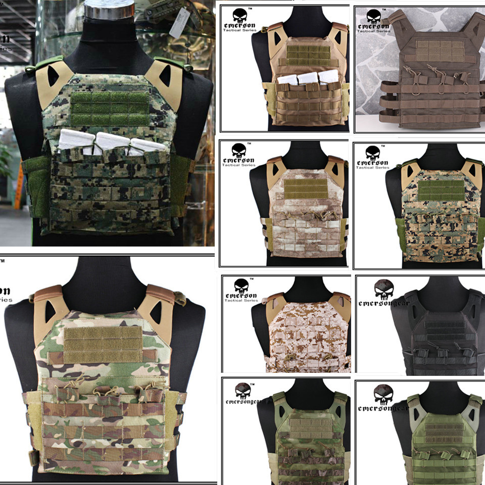 Tactical Jumper carrier Vest 1000D Cordura EMERSON JPC Vest simplified version Airsoft Combat Gear EM7344 get ready for business preparing for work student book 2