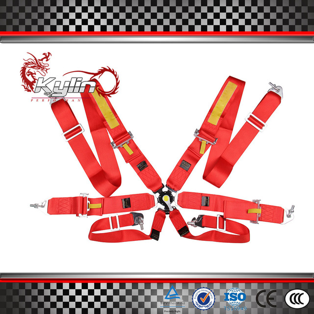 New Type: Sabelt Harness with FIA 2016 Homologation /Harness/Racing Satefy Seat Belt/width:3 inches/6Point without any logo