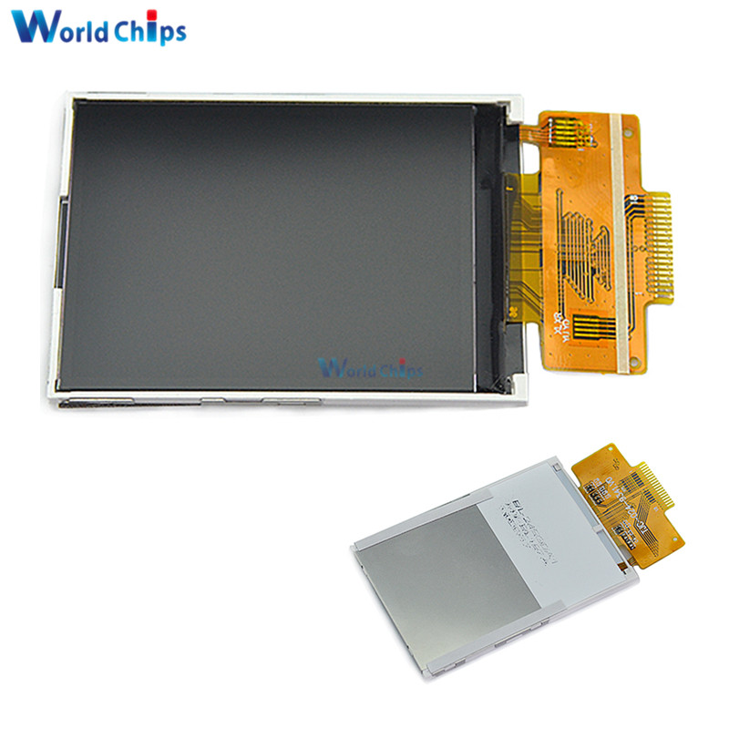 2.4 Inch SPI Serial LCD Without Touch ILI9341 4IO Port Can Be Driven 18 Pin 240X320 TFT Color Screen