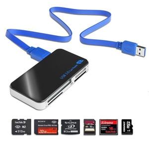 Image 2 - قارئ بطاقة SD baأوليدا USB 3.0 OTG/CF/قارئ بطاقة متعدد SD/مايكرو SD/TF/CF/MS مهايئ بطاقة ذاكرة فلاش ذكية مدمجة