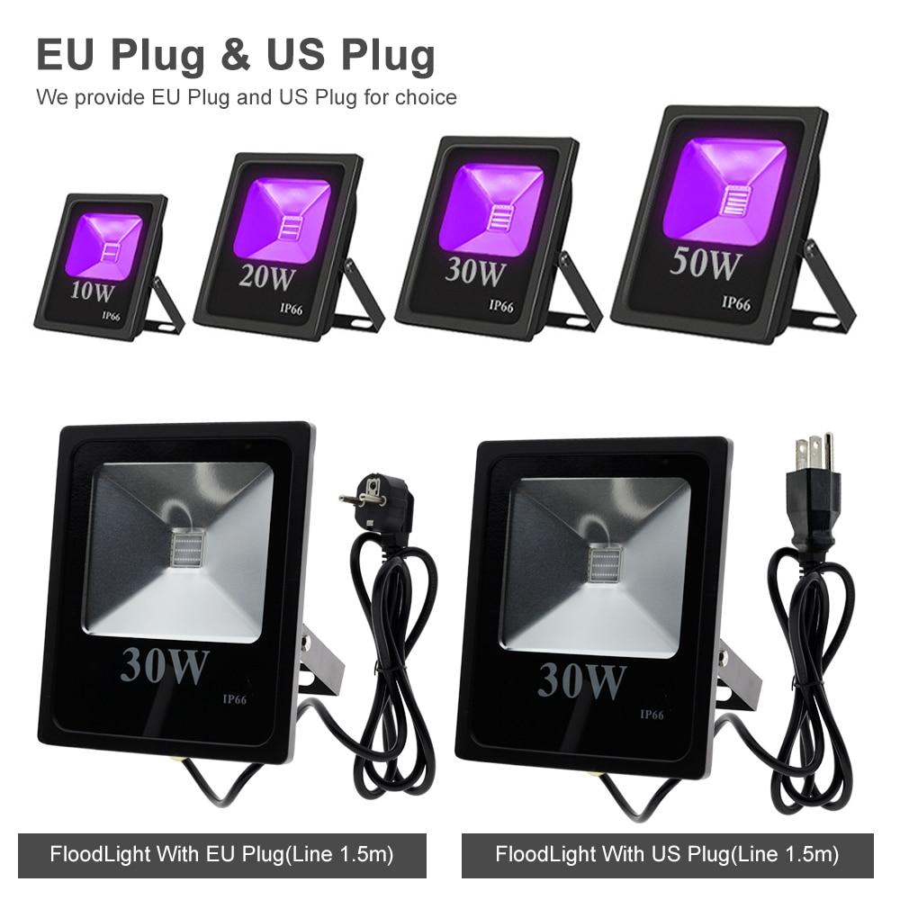 Image 4 - UV LED Stage Light 10W 20W 30W 50W High Power Ultra Violet Blacklight for DJ Disco Night Clubs KTV Stage Lighting Effect.Stage Lighting Effect   -