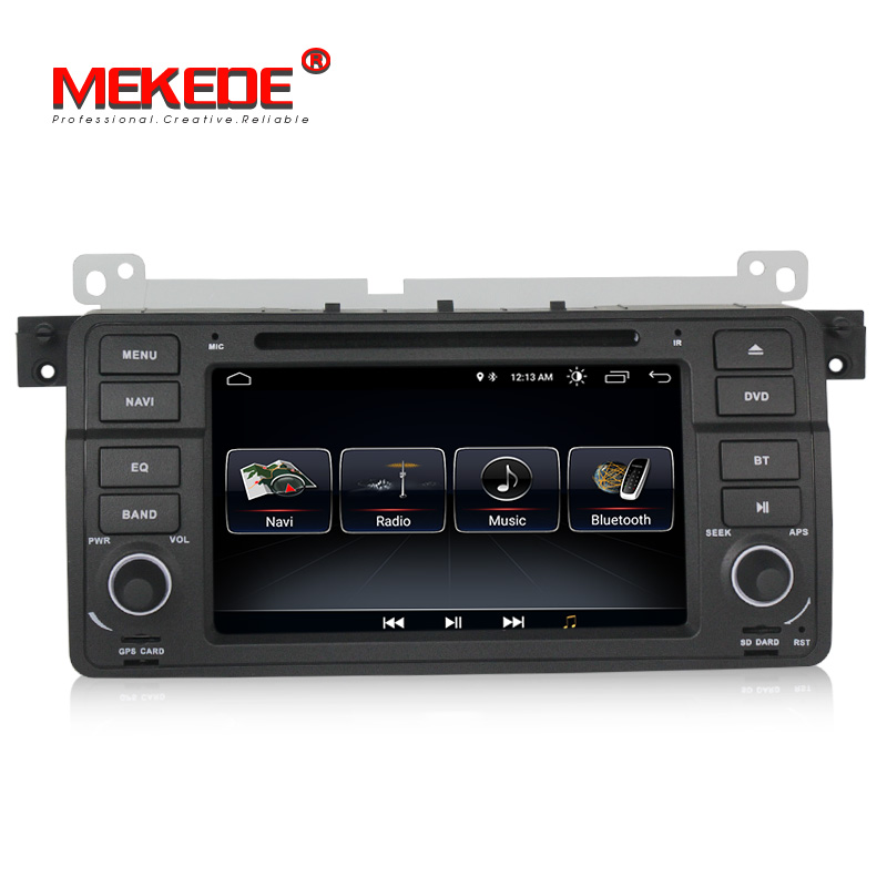 Lowest price Android 8 1 car dvd player for BMW E46 M3 1998 2006 car gps