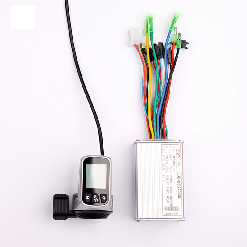 24//36//48V 250W Electric Scooter Bicycle Brushless Controller LED Display Kit Con