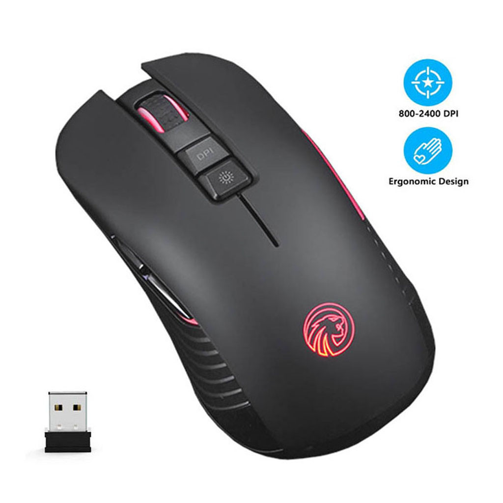 Diligent 2.4ghz Wireless Mouse M600 Rechargeable Gaming Wireless Mouse 7 Button Portable Mute Mice Laptop For Pc Laptop Games Office Careful Calculation And Strict Budgeting