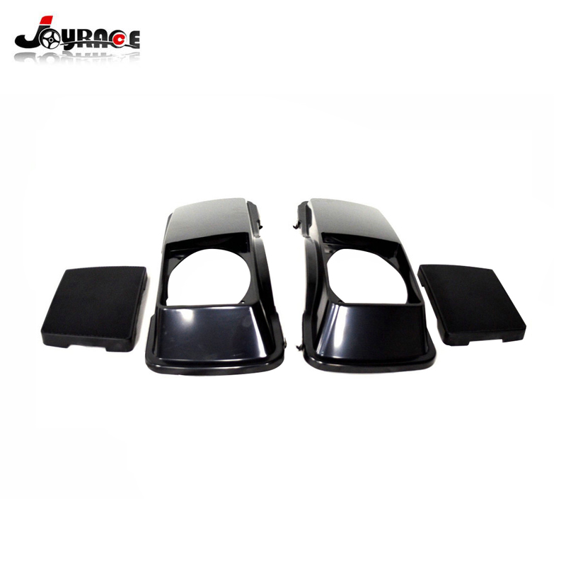 Motorcycle Hard Saddlebag Lids Speakers Grill For Harley Davidson Touring Road King Road Electra Glide 1993-2013 Hot Sale 50-70% OFF Home