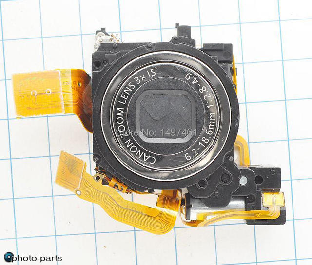 Серебро и Черный Оригинальный объектив + CCD Аксессуары Для Canon IXUS85; SD770 IS; PC1262; IXY25 камеры