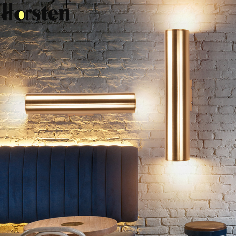 Modern Nordic Wall Lights LED Sconce Indoor Bedside Wall Lamp Loft LED Wall Light Bar Hotel Bedroom Corridor Sconce Wall LightsModern Nordic Wall Lights LED Sconce Indoor Bedside Wall Lamp Loft LED Wall Light Bar Hotel Bedroom Corridor Sconce Wall Lights