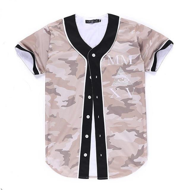 7f40ce2cc44d Fashion Hip Hop Men women T-shirt Camouflage 3d Printing Triangle Eyes  lovely Tshirt Jersey Summer Tops Tees Shirt S-XXL R70