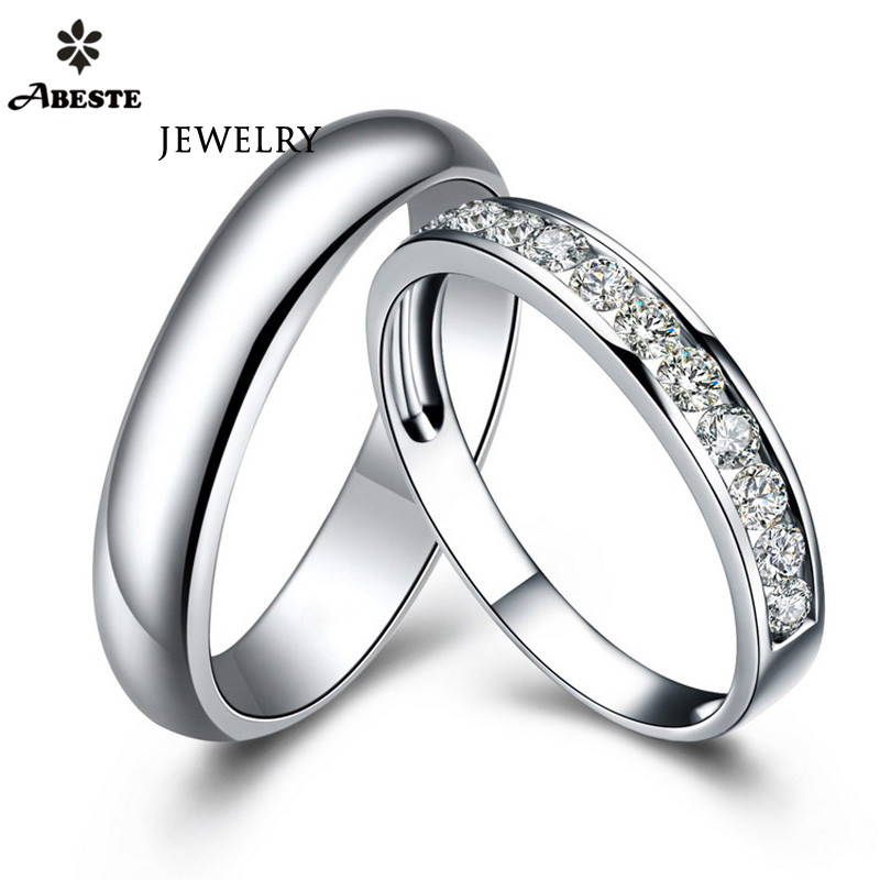 ANI 18K White Gold AU750 Engagement Ring Natural Certified I J SI 0 41 CT Round