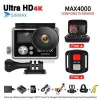 Comfast Ultra HD 4K WIFI Action Camera Diving 30M Waterproof Sports DV Kamera With Camera Bag