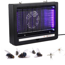 220V Electric Mosquito Killer Fly Trap 7W Led Light Insect Killer Electric Shock Repellent Energy Saving Anti Mosquito Lamp