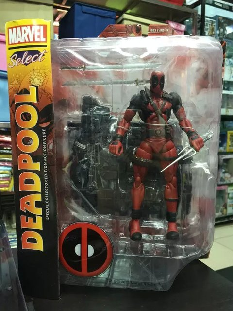 Super Hero X-Men Deadpool PVC Action Figure Collectible Modelo Toy 18 cm KT1931