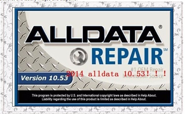 2017 HOT SELLING ALLDATA 10.53 +MITCHELL ON DEMAND AUTO CAR REPAIR SOFTWARE IN 750g EXTERNAL HARD DISK