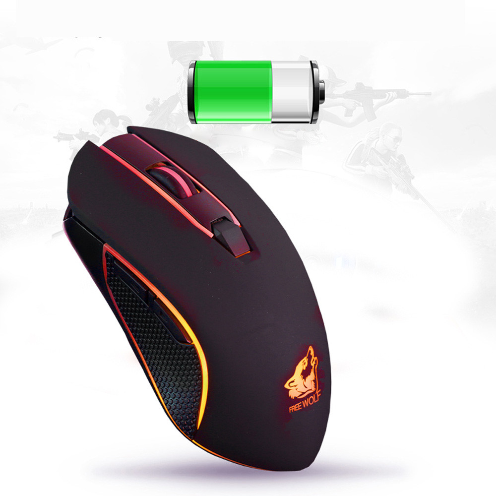 Mouse Rechargeable Electricity Ergonomic-Gaming-Mouseusps Optical Silent Wireless Backlit
