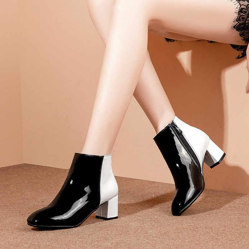 High Heel Boots Winter Womens Shoes