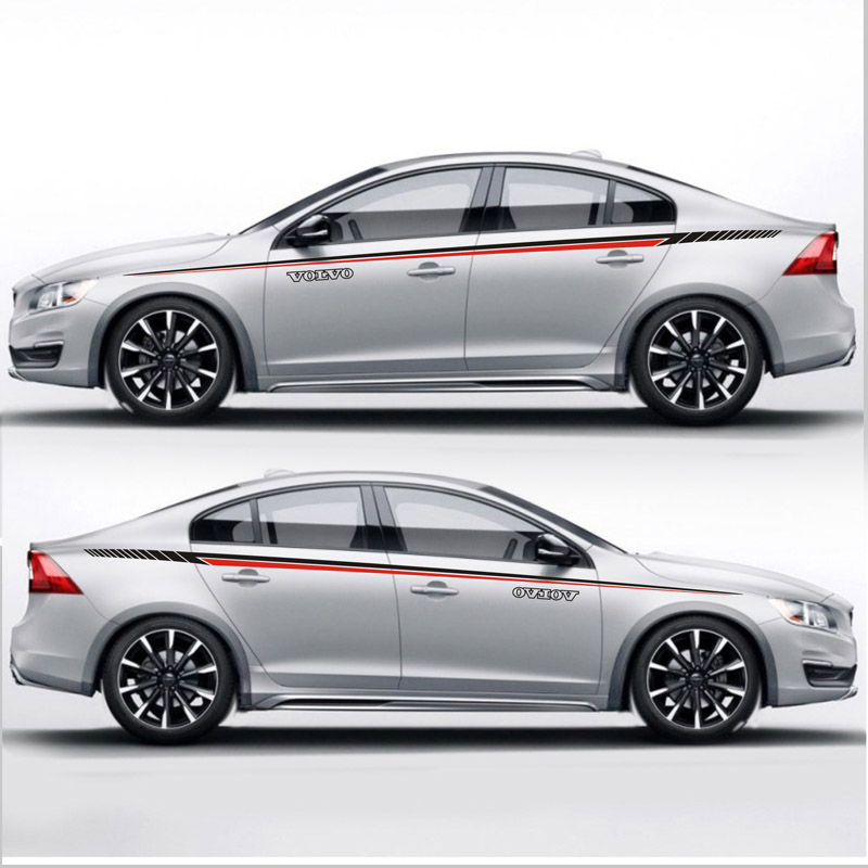 TAIYAO car styling sport car sticker For volvo S60 V60 car accessories car stickers and decals