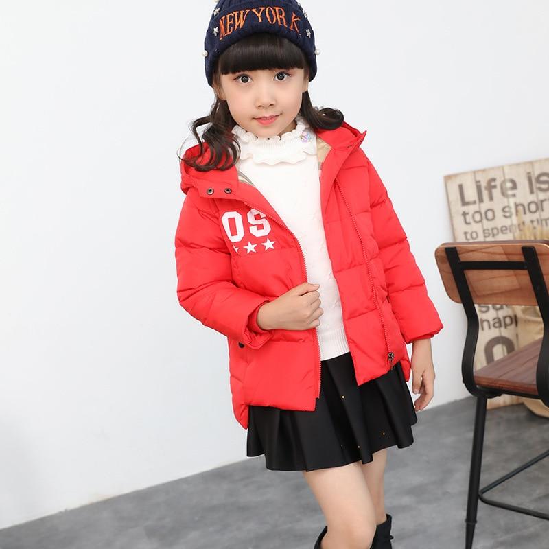 ФОТО jacket girl boy Children Jackets Winter Warm Cotton Coat Padded Boys Baby Down Kids Clothing Outerwear Overcoat Girls Parka