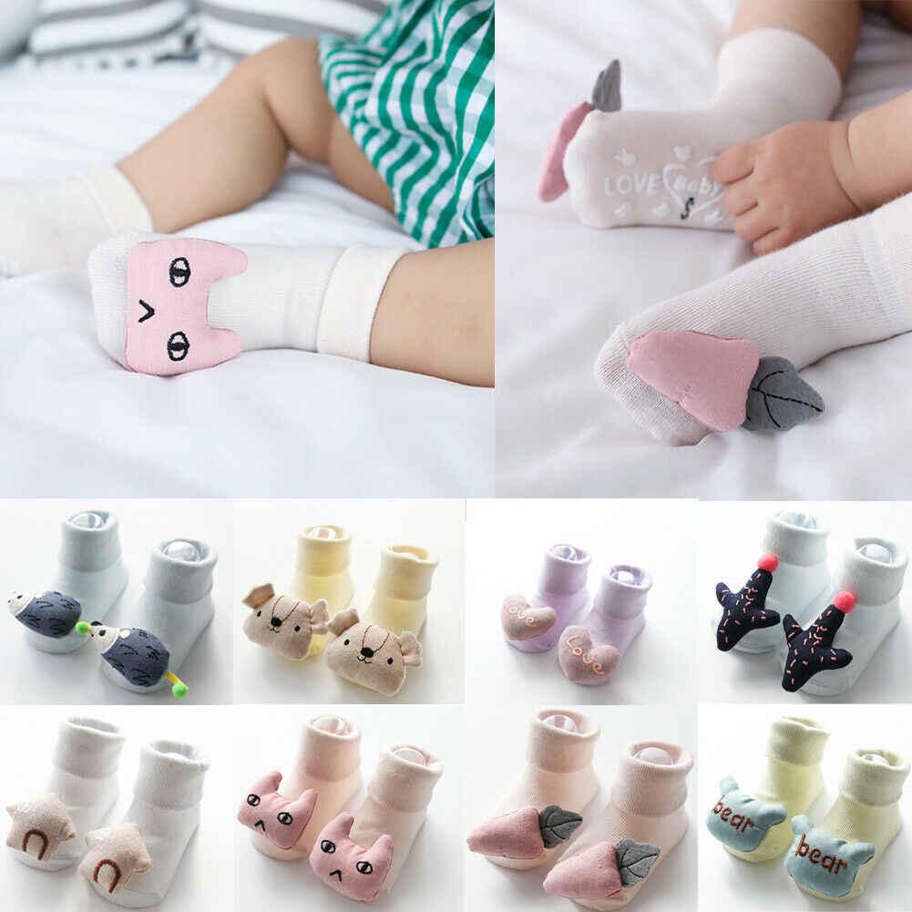 2019 accesorios de verano para niños, niño, bebé, niño, Calcetines antideslizantes, zapatillas, zapatos de dibujos animados 3D, botas para Recién Nacido 0- 12 meses