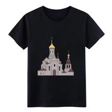 Mens Orthodox church t shirt Design cotton Round Collar Clothes Cute New Fashion summer Original