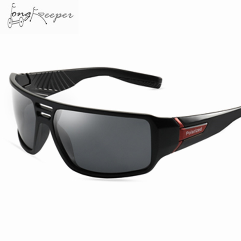 30c5a4d899 Detail Feedback Questions about LongKeeper Men Cycling Polarized Sunglasses  Women Driving Mirrors Bicycle Black Night Vision Eyewear Male Sun Glasses  UV400 ...