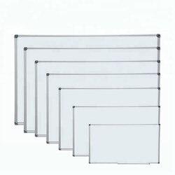 Pizarra blanca magnética de 120x90 cm (48x36 pulgadas), tamaño estándar, pizarra blanca de borrado en seco para proveedor escolar
