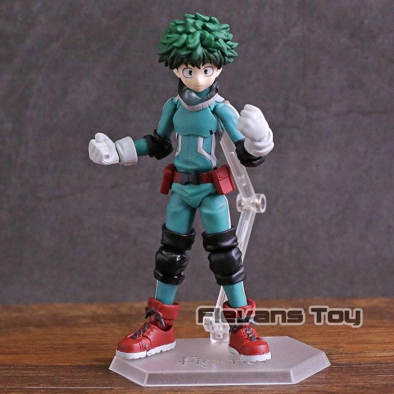 My Hero Academia Figma 323 Izuku Midoriya Pvc Action Figure Collectible Model Toy