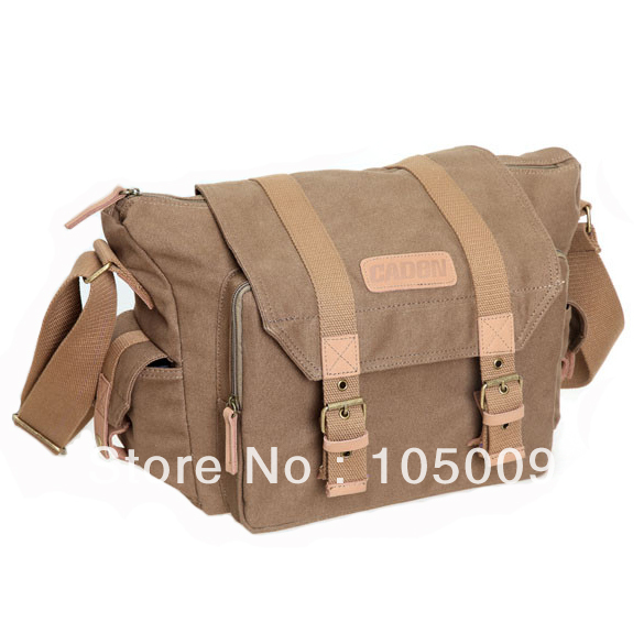 F1 Shoulder Canvas Waterproof Camera Bag Case for casual retro Canon nikon pentax sony