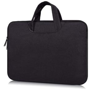 Image 2 - حقيبة لابتوب كم 13 13.3 14 14.1 15 15.4 15.6 بوصة دفتر شنطة لحمل macbook الهواء برو 13 15 Dell Asus HP أيسر حقيبة يد