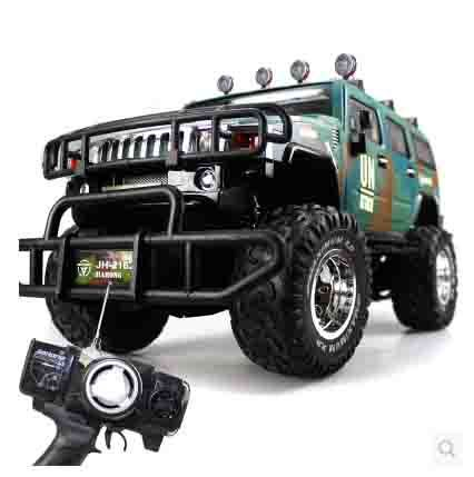 Rc Car Big Size 58x38x30cm 1 8 Hummer Car Led Light Remote Control