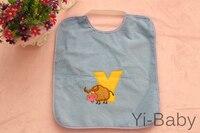 YB0020 06 Baby bib Baby waterproof bib Burp Cloths Infant saliva towels 12PCS/Set Free shipping