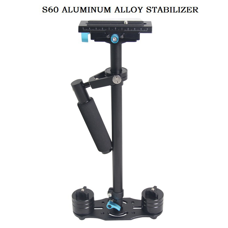 High Quality NEW S60L 60cm Aluminum Alloy Handheld Stabilizer Steadicam for Camcorder Camera Video DV DSLR Free Shipping by DHLHigh Quality NEW S60L 60cm Aluminum Alloy Handheld Stabilizer Steadicam for Camcorder Camera Video DV DSLR Free Shipping by DHL