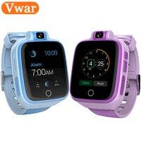 VW90 4 г сети дети Смарт часы с 2MP Камера WI FI gps Tracker ребенка Smartwatch детей безопасный монитор детские часы